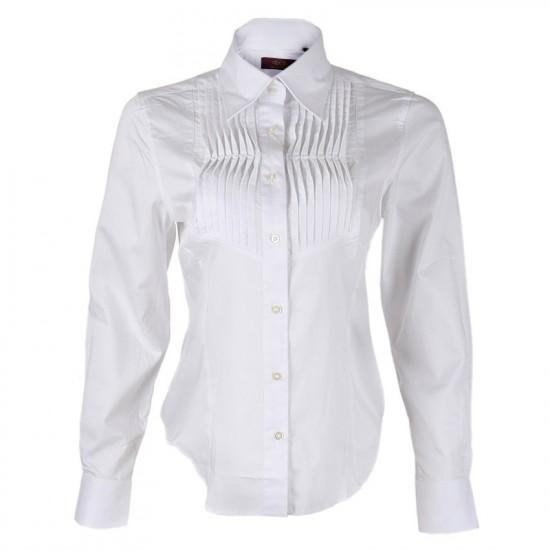 YEMS ALLURE LOVES 1---White botton down shirt