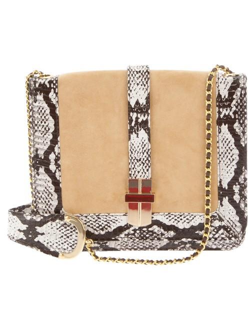 Animal Snake Skin Shoulder Bag