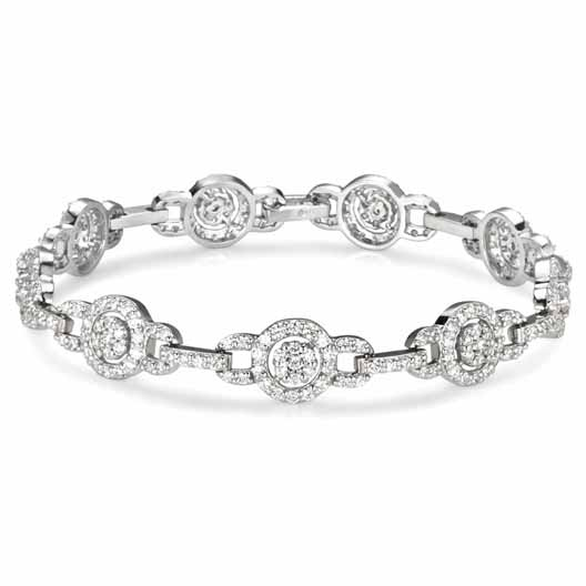 dinner date 4-----Vintage diamond bracelet