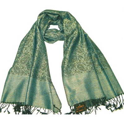 dinner date 5----Olive green pashmina