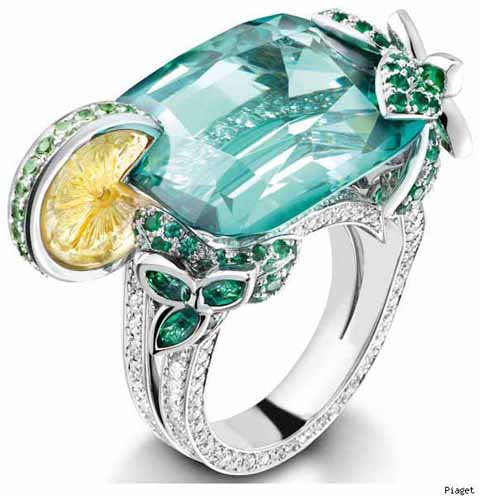 dinner date 7----piaget limelight true cocktail ring